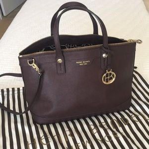 Henri Bendel west 57 Satchel with crossbody strap
